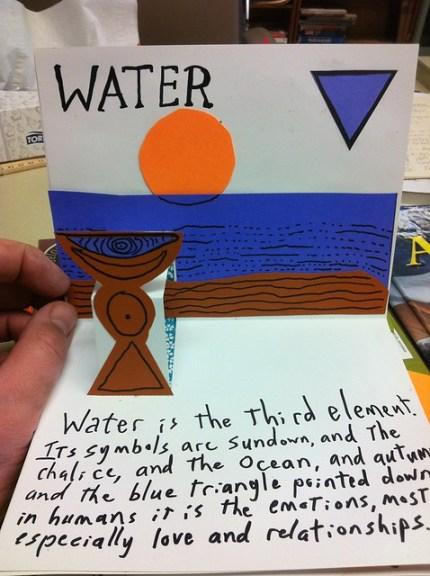 Elemental Pop-up book: Water
