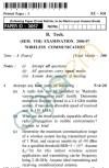 UPTU B.Tech Question Papers -EC-031 - Wireless Communication