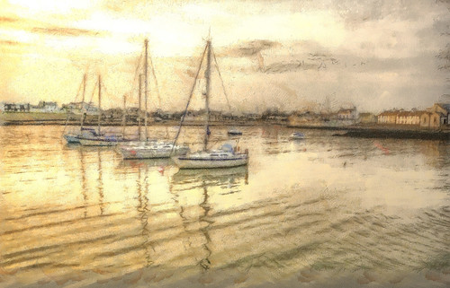 Isle of Whithorn Harbour by emperor1959