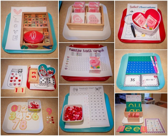 Our Valentine's Week Trays