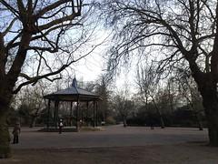 Bandstand. Battersea Park