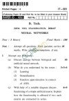 UPTU B.Tech Question Papers - IT-031-Neural Networks