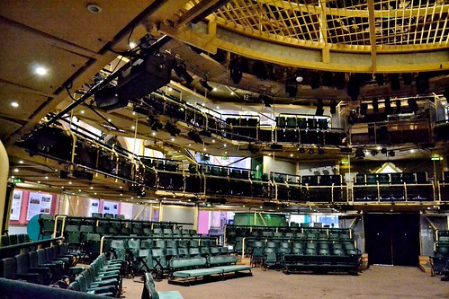 Theatre in the Round, Royal Exchange, Manchester by Angela Seager