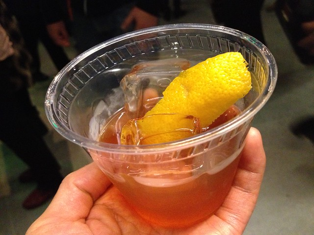 Whiskey cocktail - SF Jazz Center