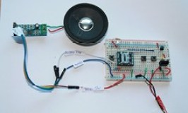 WTV020SD with Audio amplifier