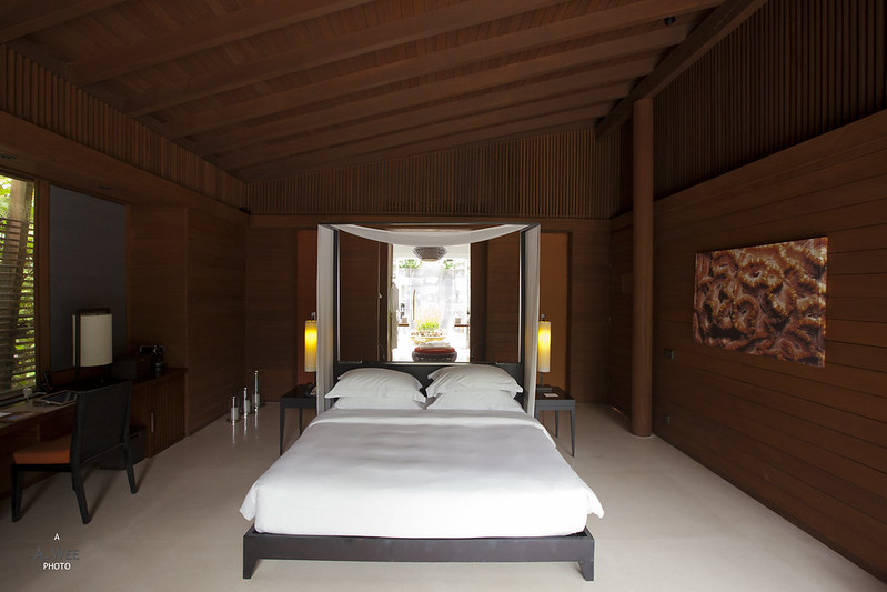 Bedroom of the Villa