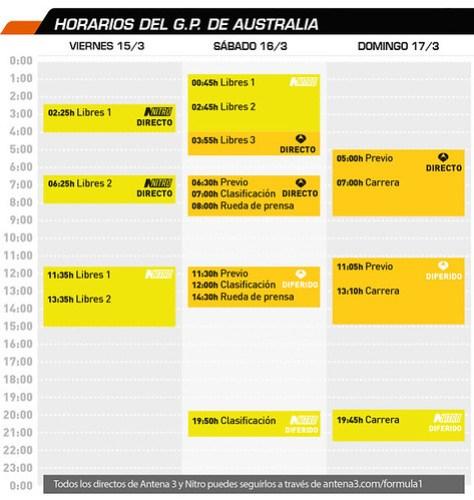 F1 horarios_gp_2013_australia