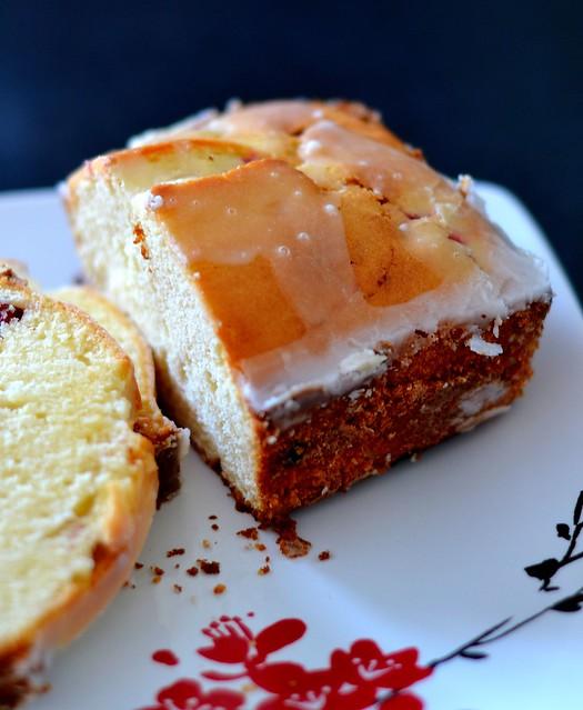 lemon cranberry cake - GB