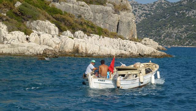 Turquie - jour 8 - Baie de Kekova - 185
