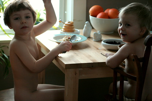 naked breakfast