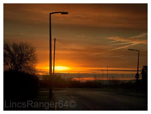 Heapham Road Sunrise, Gainsborough