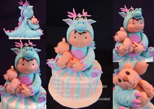 Figurine - Baby Dragon by Mama Min