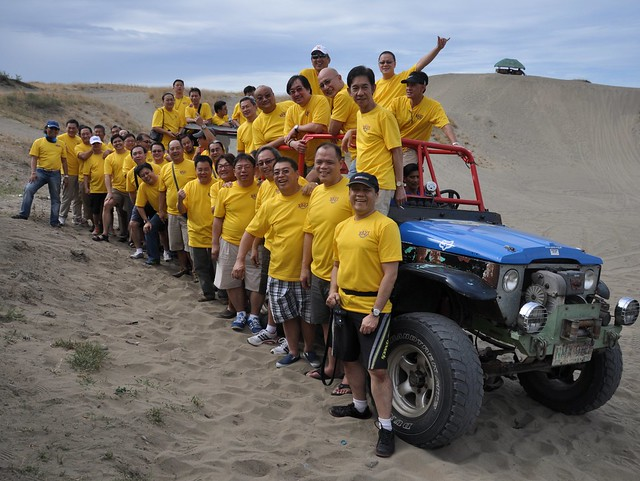 Xavier School Batch '77 at the Laoag La Paz Sand Dunes