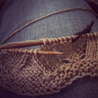 Cymatics cowl in progress