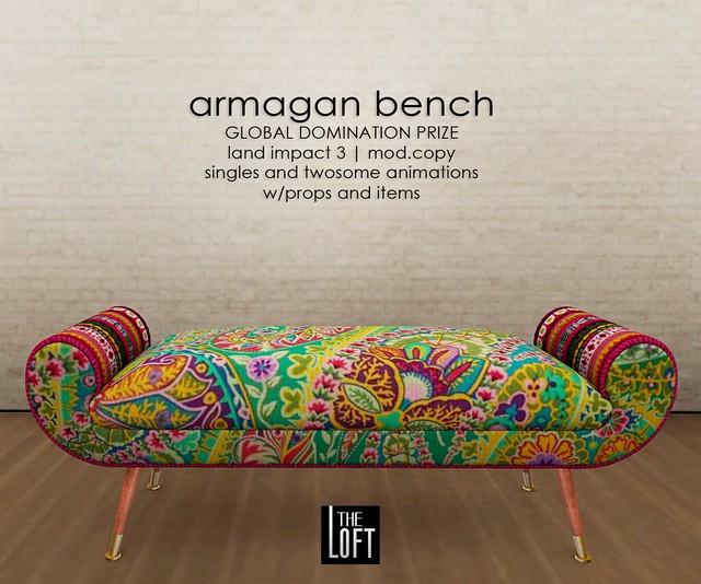 The Loft - Armagan Bench