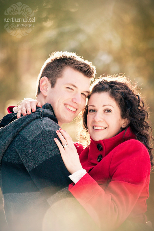 Winter Engagement Session Prince George BC