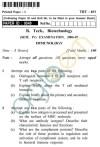 UPTU B.Tech Question Papers -TBT-401 - Immunology