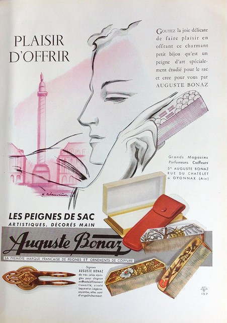 Advertisement for Pretty Combs, 1947