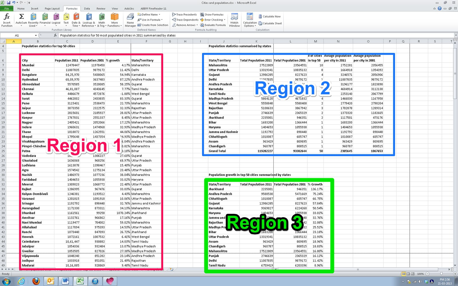 Reading Row And Column Titles In Excel Using Jaws