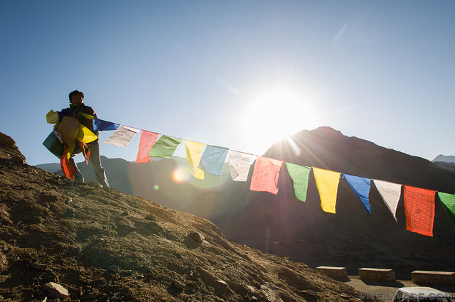 Hanging Prayer Flags