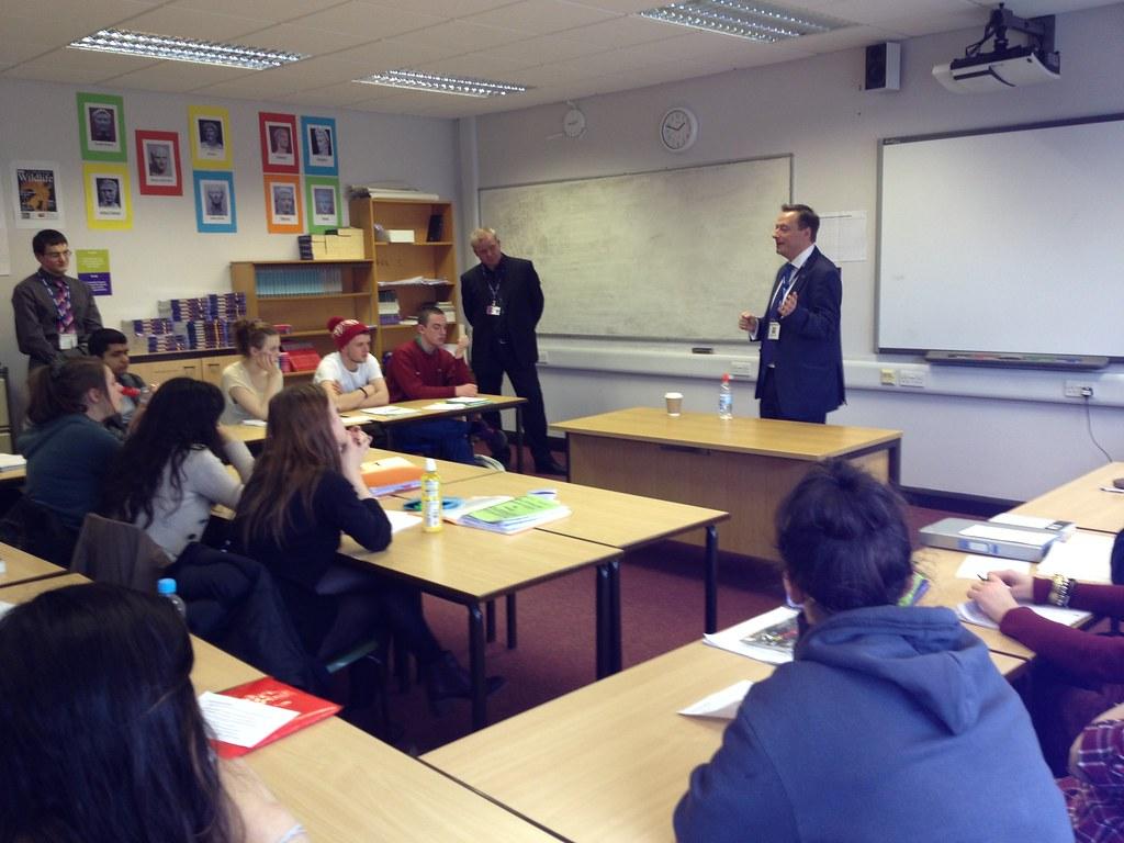 Huddersfield New College Talk