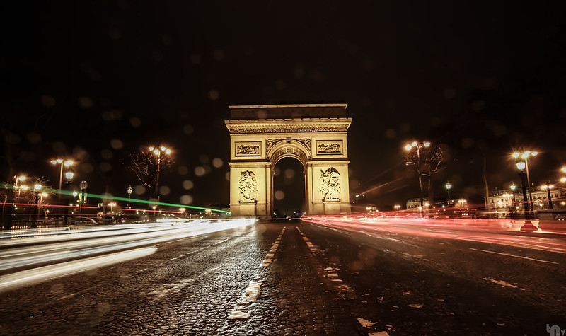 Paris by night - Arc de Triomphe