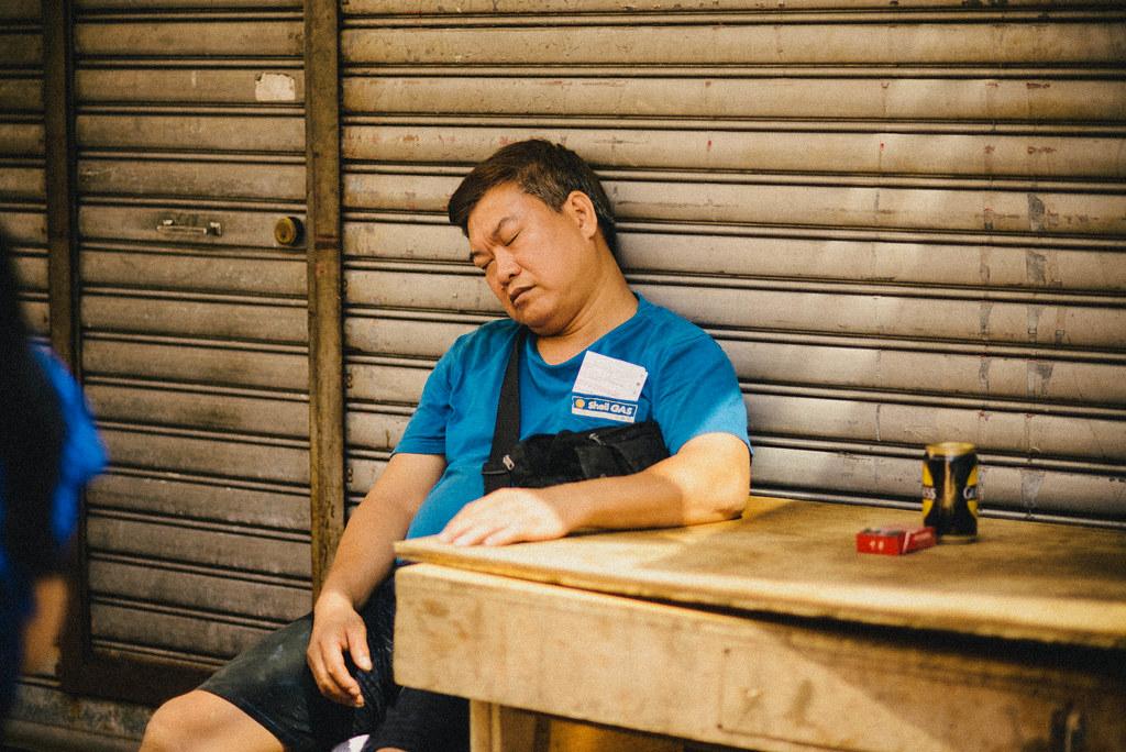 Hong Kong Napping