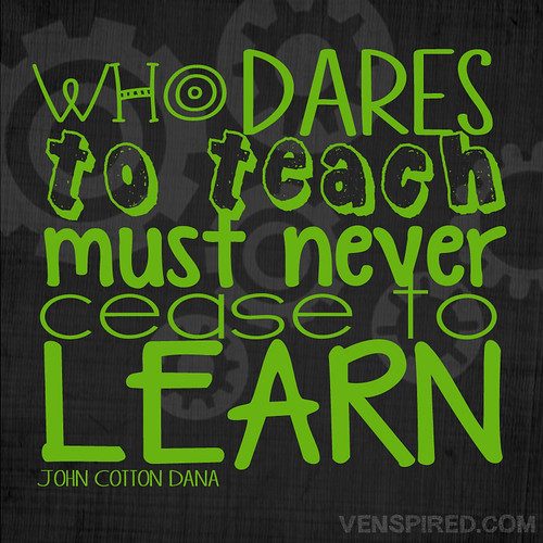 Who Dares to Teach