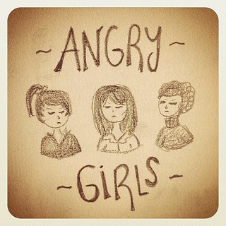 No sé si existe este grupo pero el nombre mola #AngryGirls