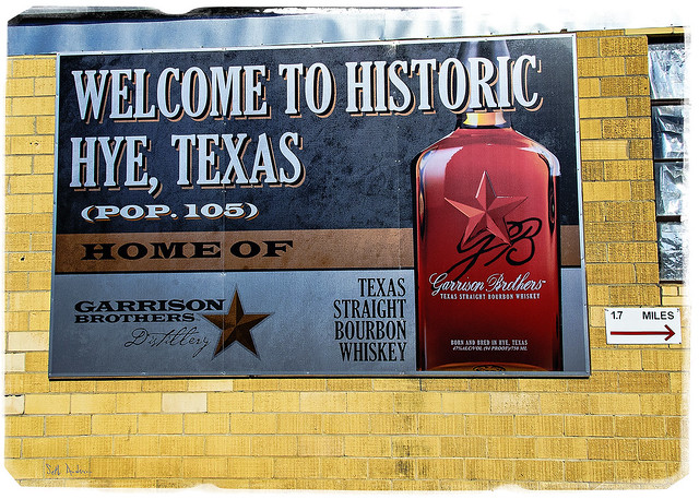 Welcome to Historic Hye, Texas