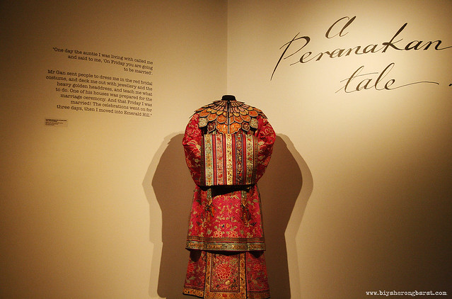 Emily of Emerald Hill in Peranakan Museum Singapore