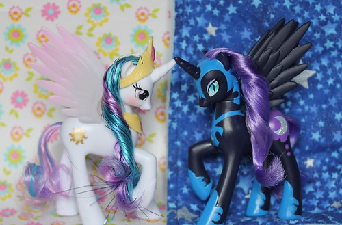 25/365 Princess Celestia & Nightmare Moon