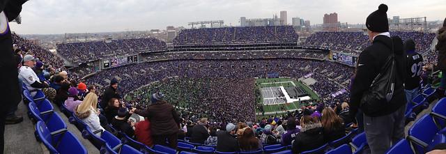 Ravens Superbowl Celebration Iphone Panorama