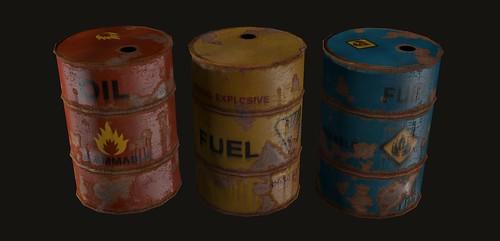 Barrels - By David Henson