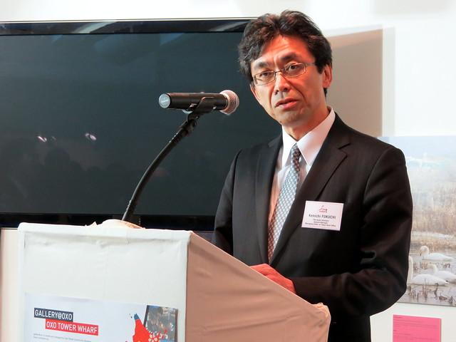Kenichi Fukuchi, General Manager and Managing Editor of the Tokyo Head Office of The Asahi Shimbun
