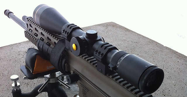 The Venom 6-24x50mm scope