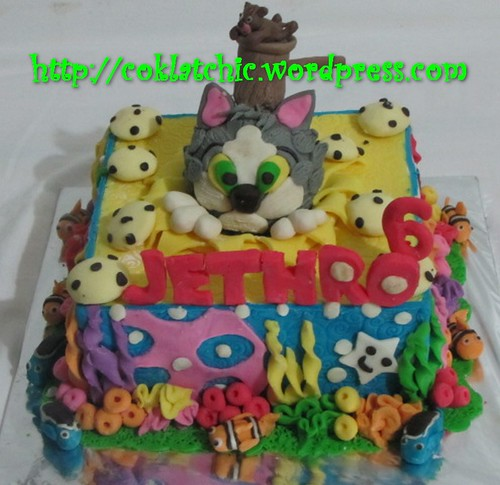 Cake Tom and Jerry