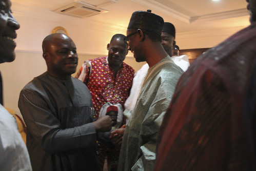 Nuhu Ribadu with The Ojukwu Family by Jujufilms