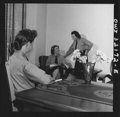 Transit Women Between Shifts: 1943