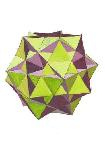 Great ditrigonal icosidodecahedron