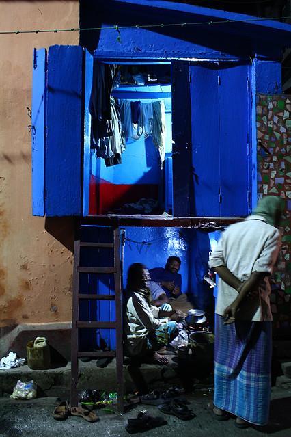 A tiny house in Kolkata