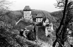 Karlštejn (BE), hrad. Jarní výlet