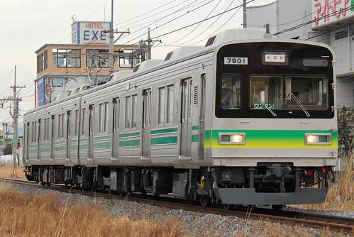 7801F @持田〜熊谷