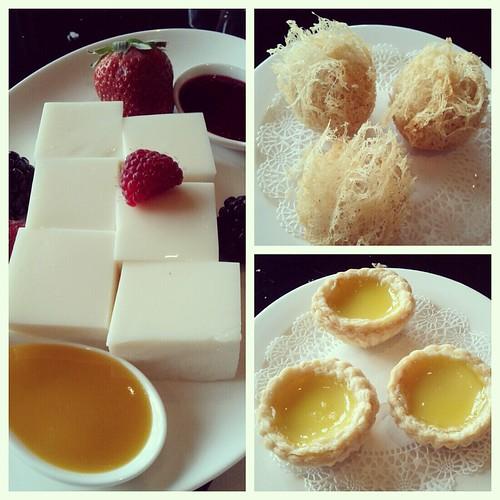 Dim sum desserts
