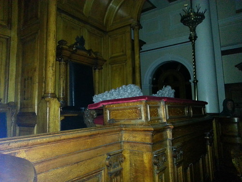 Ghost Hunt at Galleries of Justice - Judges Chair