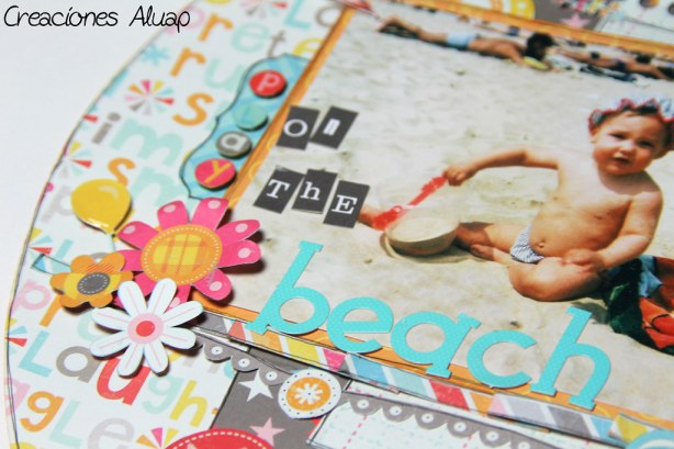 layout play on the beach