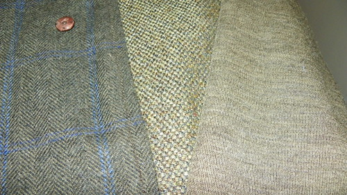 Herringbone, Tweed, Knit