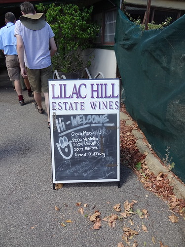 Lilac Hill winery. Best 2009 Merlot ever.