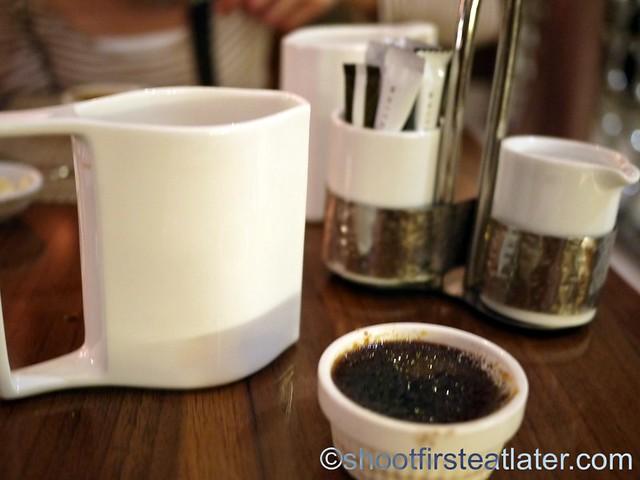 coffee & chocolate creme brulee