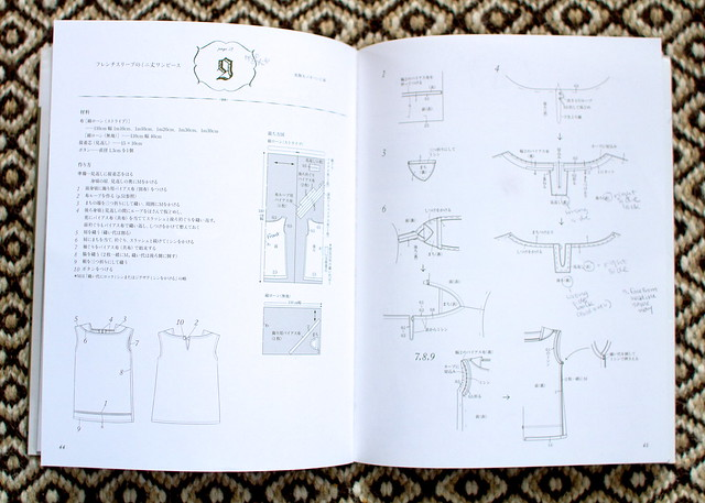 japanese pattern books - the basics